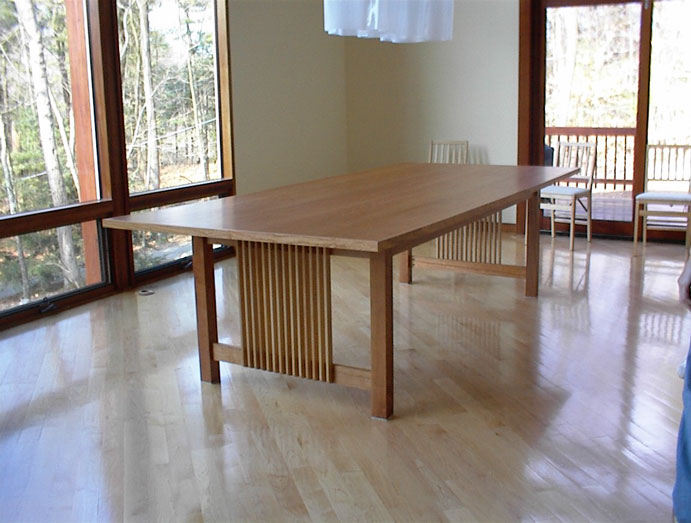 Dining Room Table Completed 4 17 04